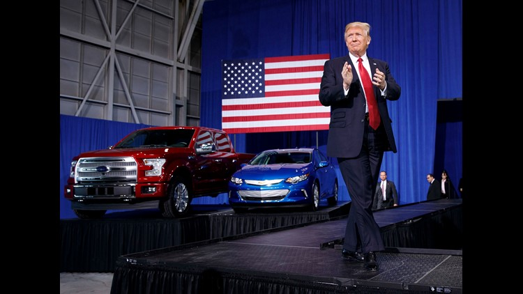 Ford corrects Trump over US-made Focus Active claim