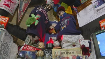 Creators of Twins Shrine hope positive energy continues in MLB Postseason