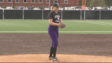 Tommies pitcher returns to the field