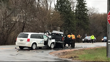 MN-5 closed in Waconia after serious crash