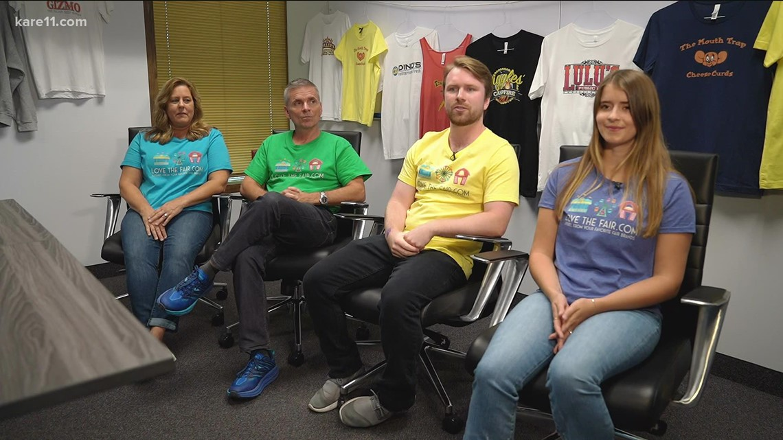 Minnesota family's apparel company features State Fair favorites