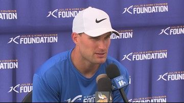 Kirk Cousins hosts inaugural Twin Cities Camp