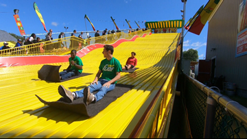 Mpls and St. Paul mayors declare Wednesday Giant Slide Day
