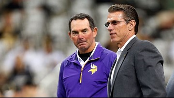 Vikings extend Zimmer's contract through 2020