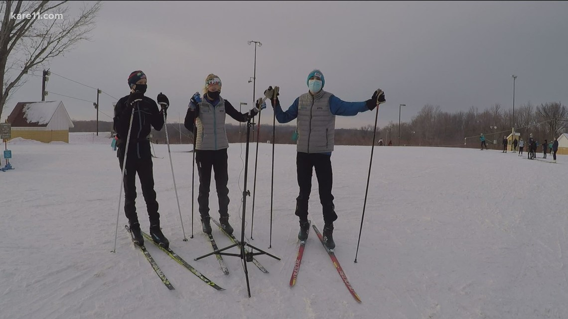 Seven sets of siblings represent Forest Lake Nordic skiing