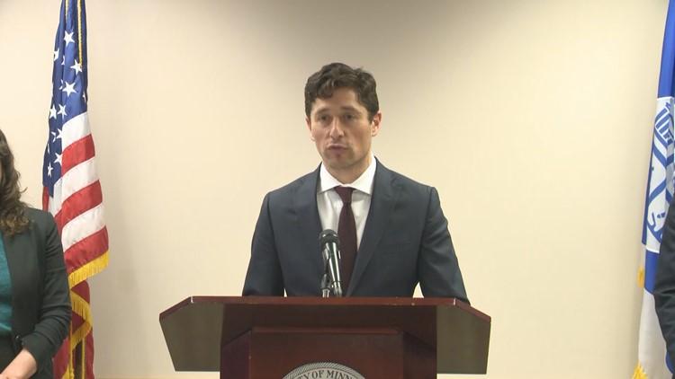 Mpls Mayor Jacob Frey announces settlement