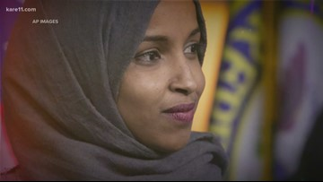 Omar to Trump: 'You have trafficked in hate your whole life'