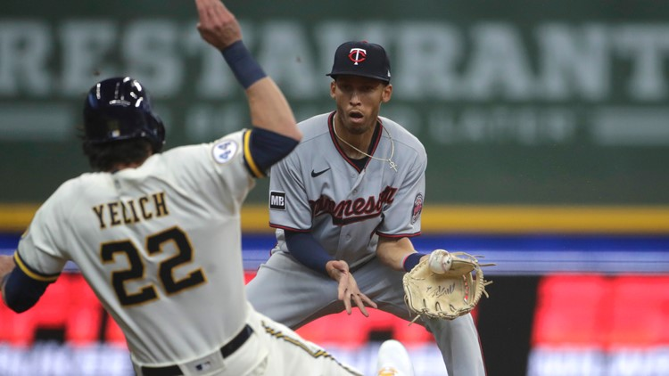 Brewers come from behind to beat Twins 6-5 in 10 innings