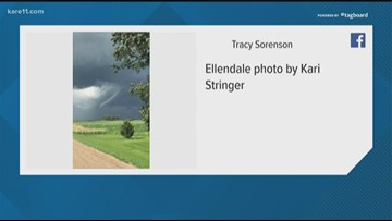 Storms bring tornadoes, flash flooding to Minnesota