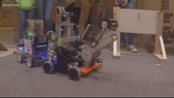 Robots converge on Capitol