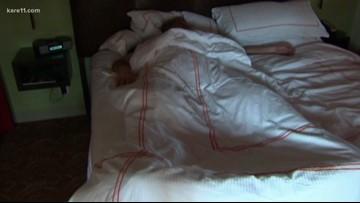 Laser treatment targets snoring