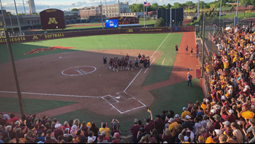 Gophers Softball Team embracing the 'underdog' mentality heading into CWS