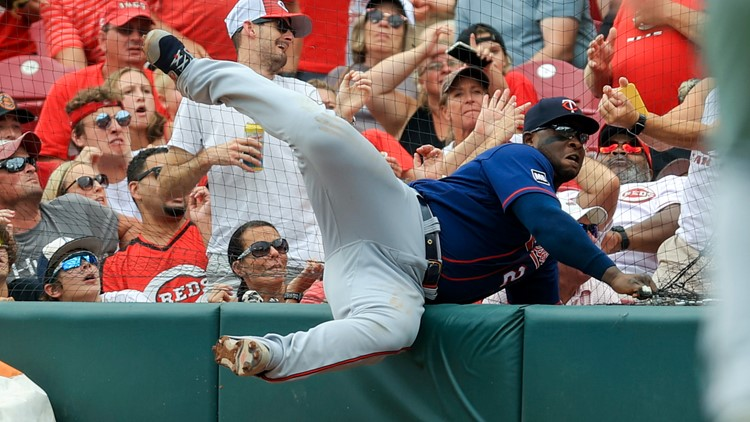 Castillo solid for 6, Stephenson homers as Reds edge Twins