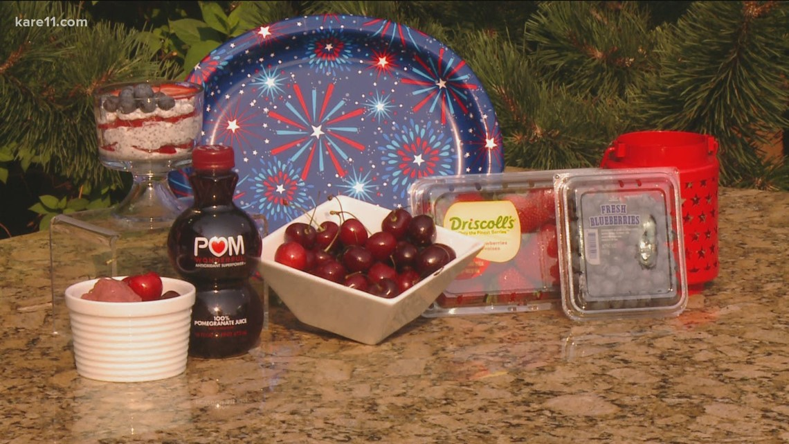 Red, white & blue foods to get patriotic on your plate this July Fourth weekend
