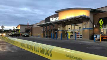 Police on scene of shooting at Walmart in Blaine