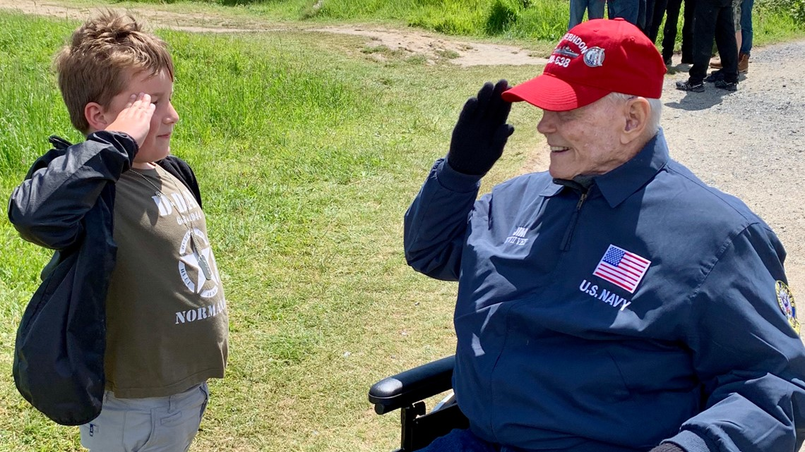 Minnesota sailor honored at D-Day 75th anniversary