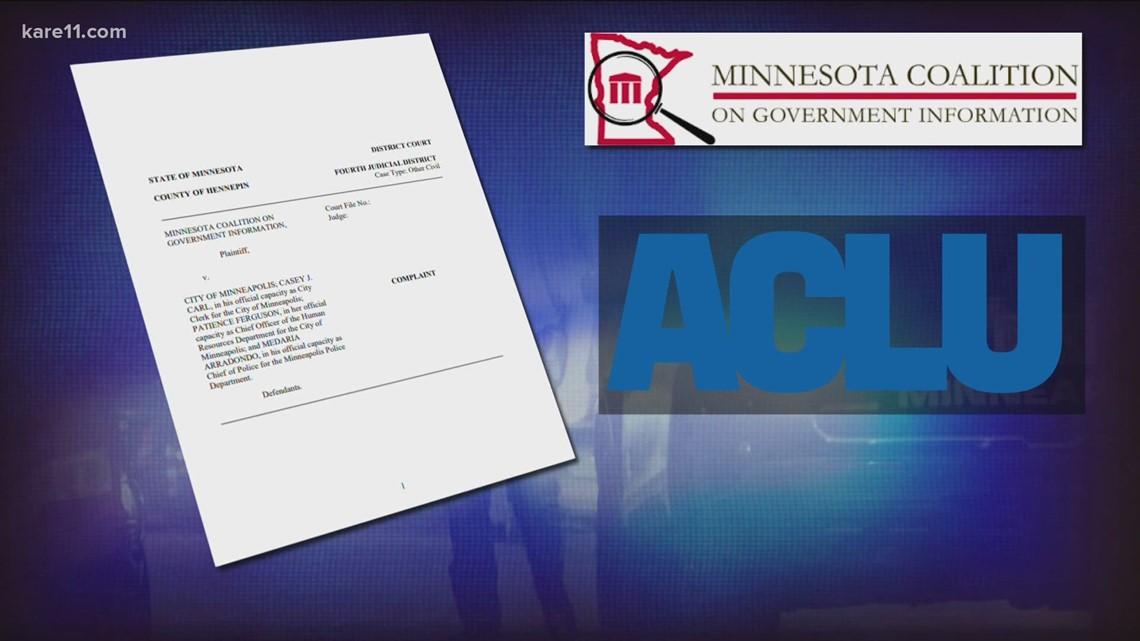 KARE 11 investigates: ACLU sues to open secret Minneapolis police discipline files