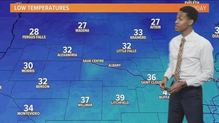 Mid-morning weather 10-21-2021