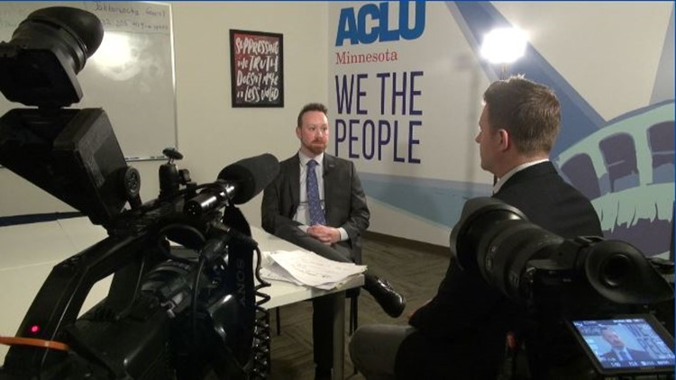 ACLU of Minnesota Legislative Director Ben Feist