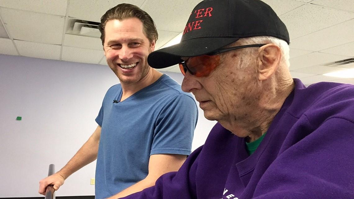 85-year-old Navy vet takes up tap dancing