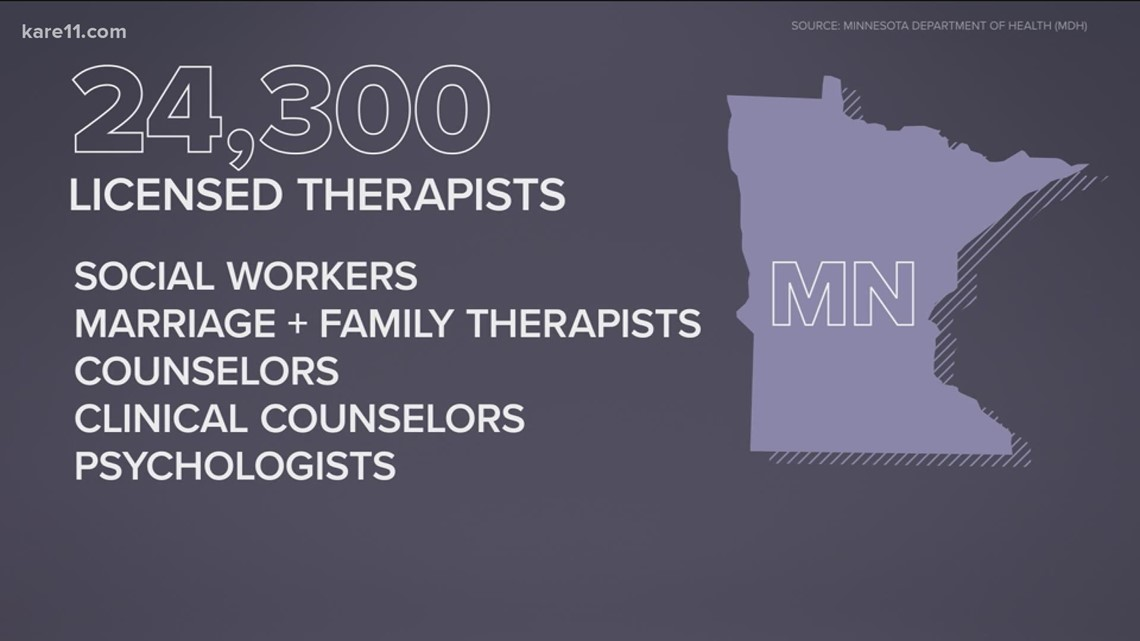 Changes could be coming in Minnesota, making finding a therapist of color less difficult