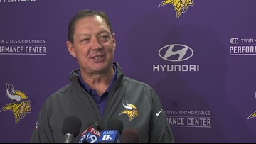 Meet Rick Dennison Vikings new OL coach