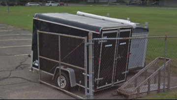 Boy Scouts' stolen trailer recovered