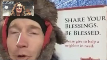 KARE 11 Sunrise checks in with Wis. man during bell-ringing marathon