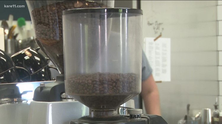 Rising coffee bean prices will likely take a while to hit your wallet