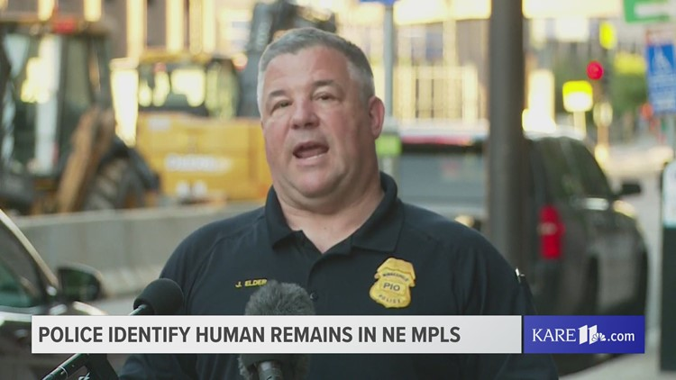 Police identify the man whose partial remains were found in NE Mpls