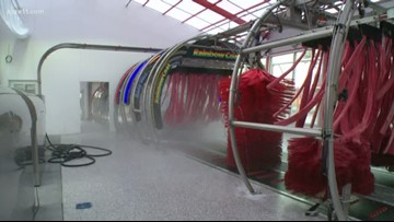 New Hope car wash uses rain, recycled water