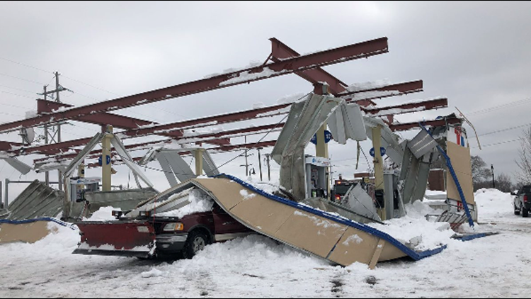 3 Separate Roof Collapses In Eau Claire Kare11com