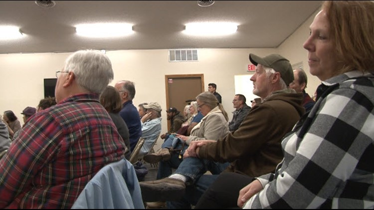 Concerned North Shore residents packed a community meeting Saturday in Grand Marais