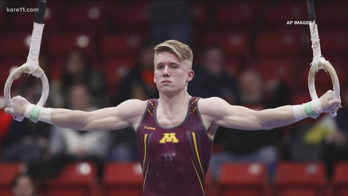 Minnesota native Shane Wiskus looks to make Olympics gymnastics team