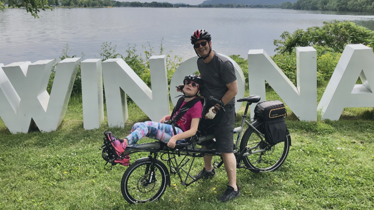 Local dad helps families find the perfect bicycles to fit riders with special needs