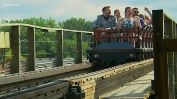 Couple that had first date at Valley Fair ties the knot at the amusement park nearly four years later