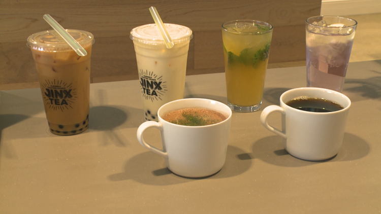 Jinx Tea drinks