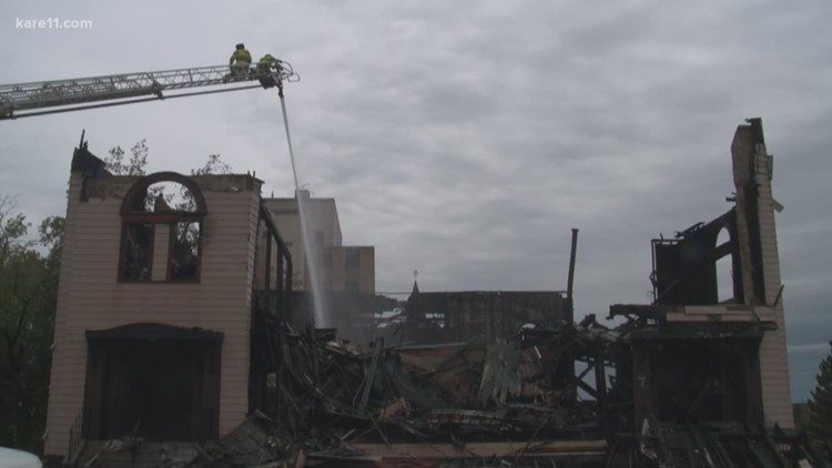 Fire destroys Duluth synagogue