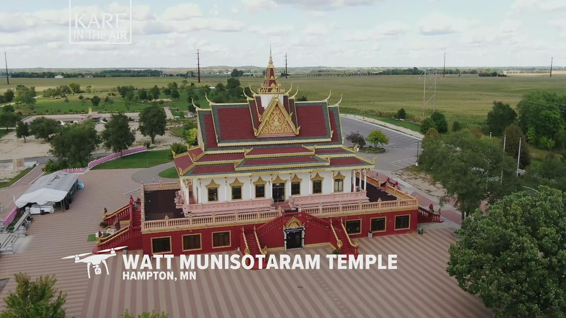 KARE in the Air: Cambodian Buddhist Temple