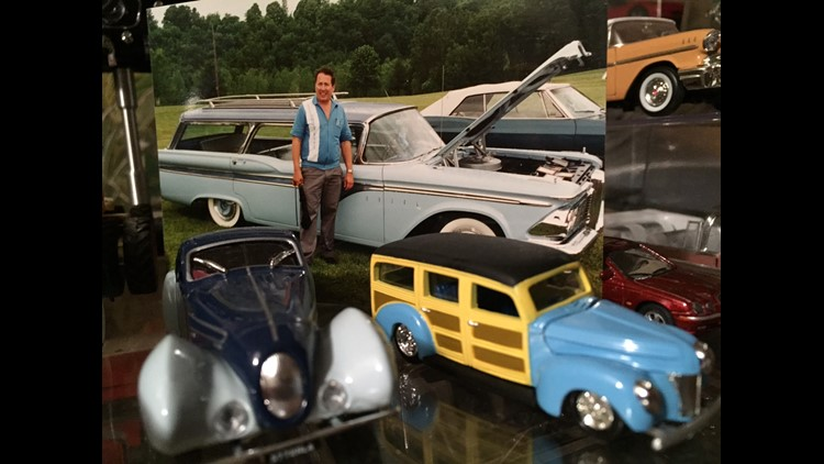 Dennis Erickson died on December 3rd, leaving his car collection to his church.