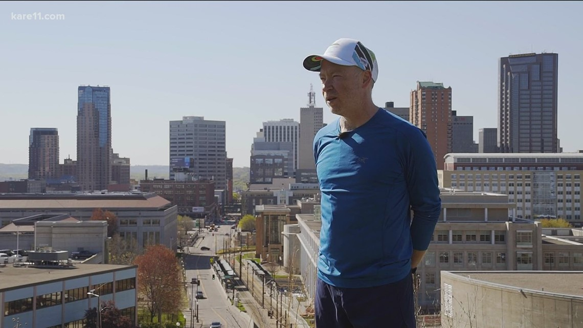 Andy's Run: St Paul man runs every street and alley in his city...in one year