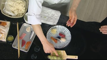 RECIPE: Edomae sushi nigiri platter
