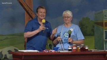 Jamming with Minnesota State Fair Blue Ribbon winner Barb Schaller