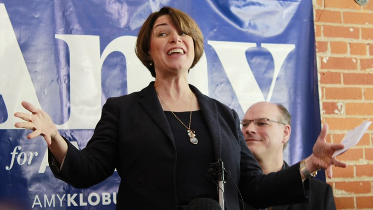 Senator Amy Klobuchar makes first campaign stop in Wisconsin