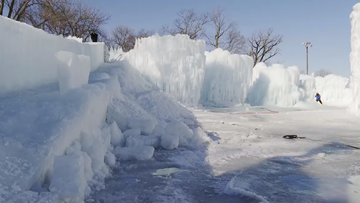 Ice Castles open in Excelsior