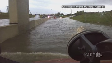 Flooding closes portion of I-90 in Austin