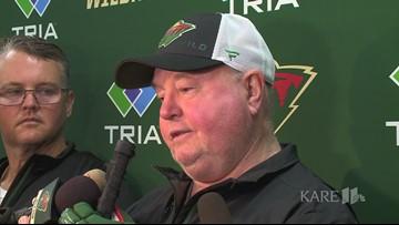 Boudreau, Parise talk about new season for Minnesota Wild