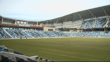 MN United hold opening ceremony at Allianz Field