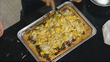 KARE in the Kitchen: Breakfast pizza