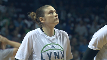 Lindsay Whalen Honored to have Lynx jersey retired